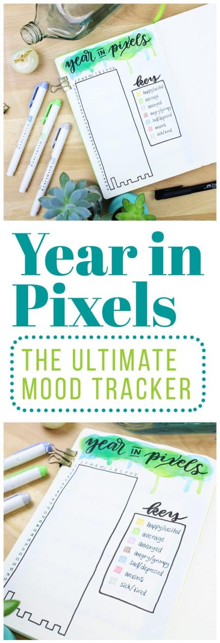 Knowledge is key to changing your life because you can't know what to change or how to make the change if you're working from incomplete data. That's why I decided to create the ultimate mood tracker, a Year in Pixels chart so I can have a bird's eye view of my moods and emotions!