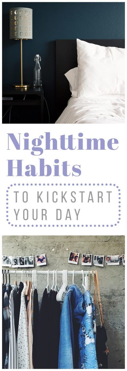 If you struggle with mornings (which, let's be honest, we all do from time to time), then you might be in need of some new nighttime habits. Prepare yourself for the new day by developing these good bedtime habits!