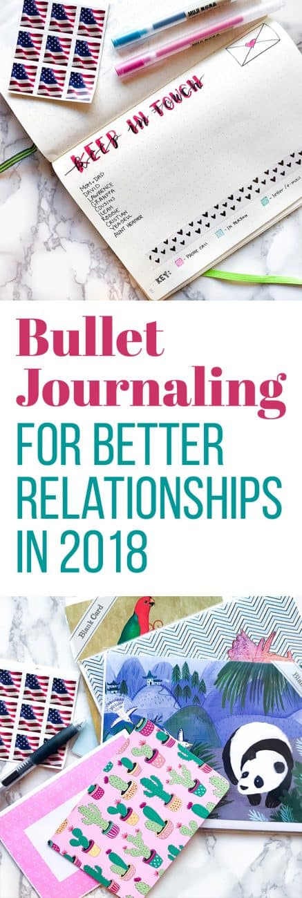 When you're a busy person (which I'm guessing you are), it's easy to fall out of touch with friends and family. I decided to make a plan for 2019 and make bullet journaling the solution to this problem. Here are a few of my tactics that have started working already!