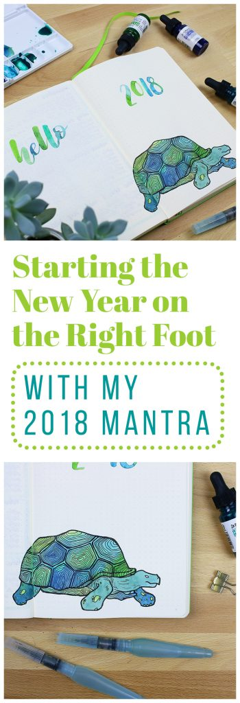 my 2018 mantra