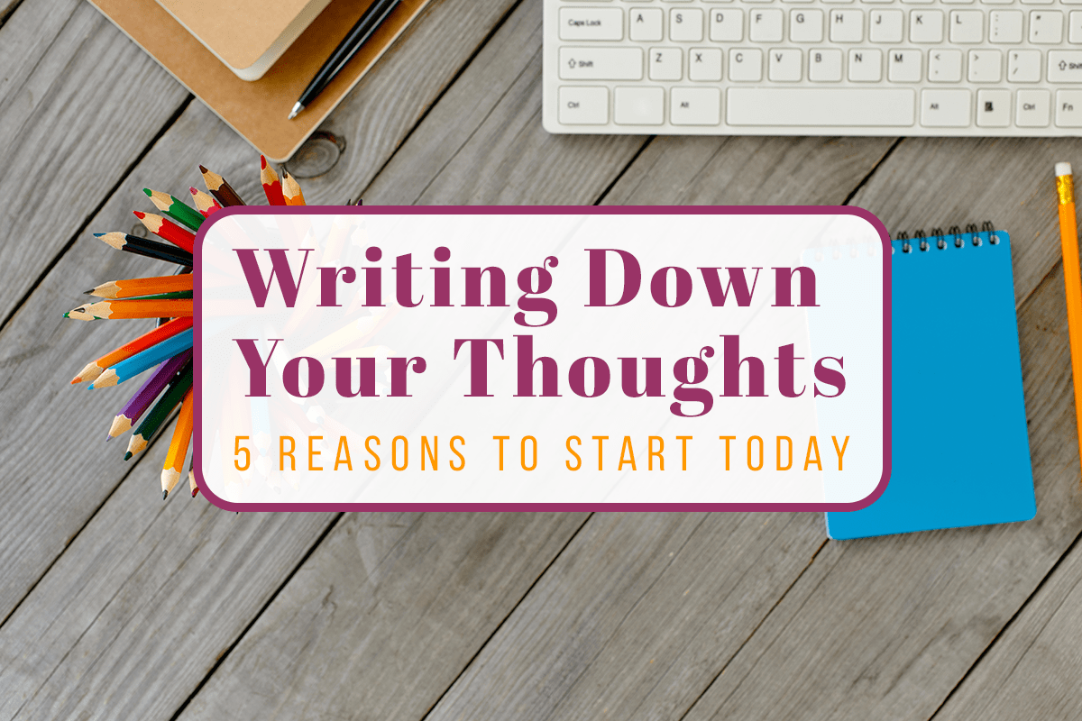 Writing Down Your Thoughts Cover Image