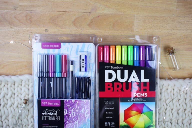 *CLOSED* Brush Lettering 101 Starter Kit Giveaway
