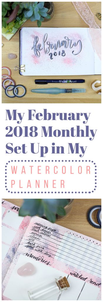 February 2018 monthly set up