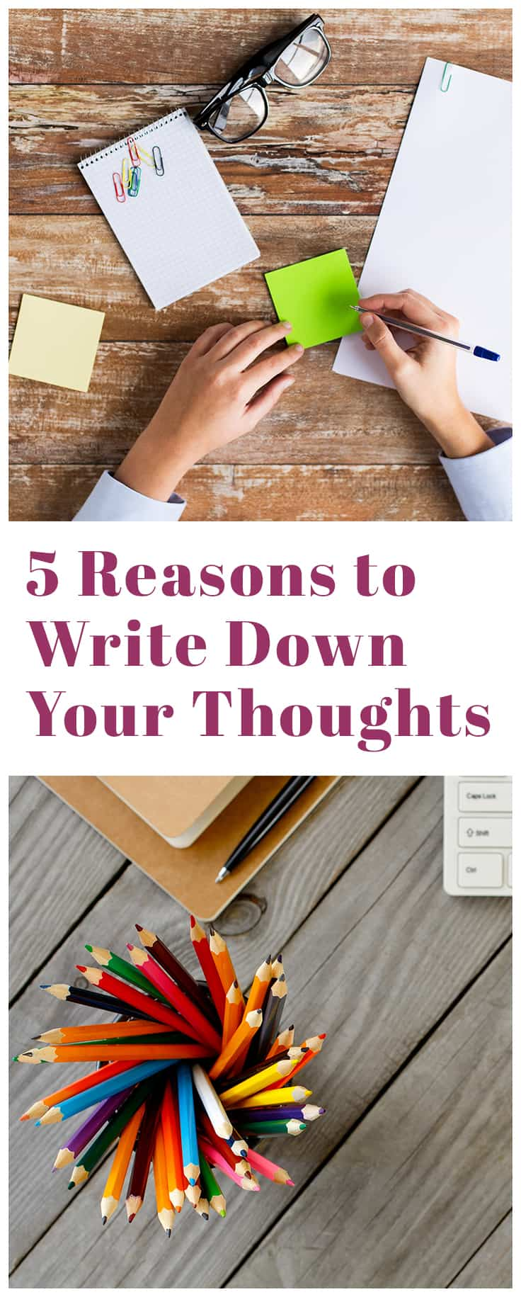 Taking a break to write out whatever is on our mind can greatly improve your quality of life. Here are few reasons to start writing down your thoughts: - You're more likely to remember things you write down - It makes you look more professional - You won't forget important tasks - It's just plain good for you Click the link to jump in! #journaling #productivity #buildinggoodhabits #goodhabits #healthyhabits #benefitsofwriting #benefitsofjournaling