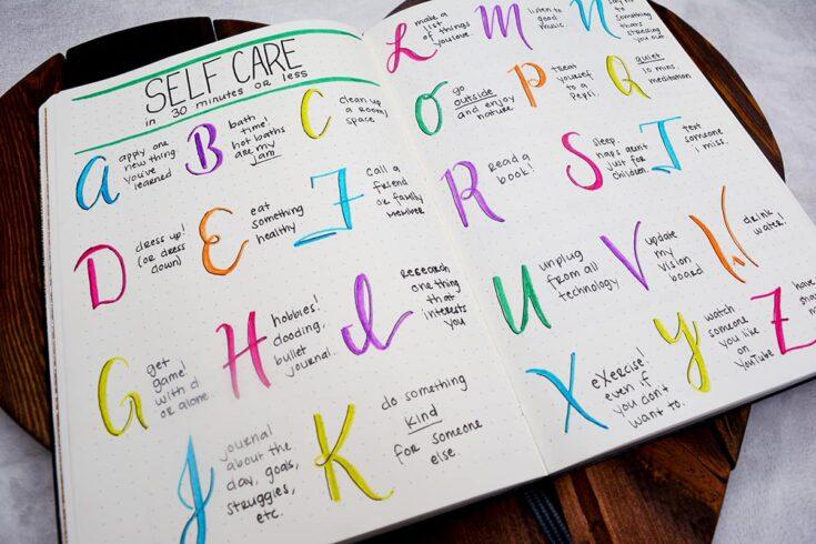 Self-Care Alphabet