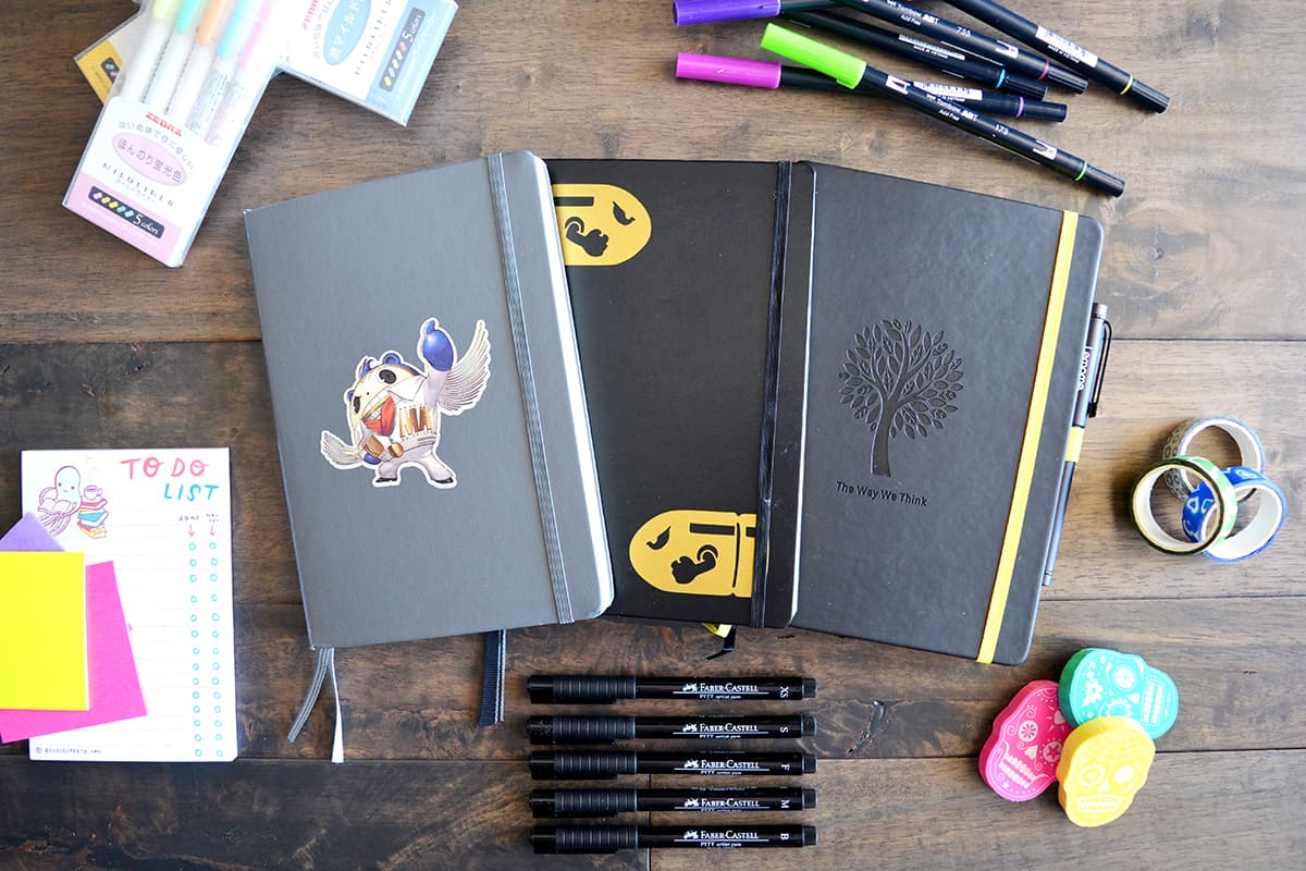 evolution of a bullet journal