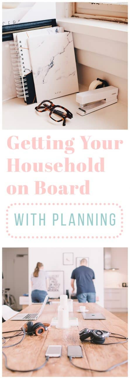 Are you looking to get the entire family organized and structured? It's a great way for family members to bond and share common goals. Learn how to get your household on board with planning smoothly!