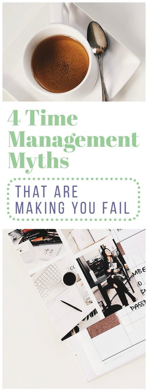Why do we hang onto such unproductive time management myths when they cause so many people to struggle? Learn some of the most common myths that exist, along with ways to reframe your thinking for improved productivity.