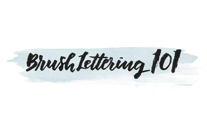 Brushlettering 101