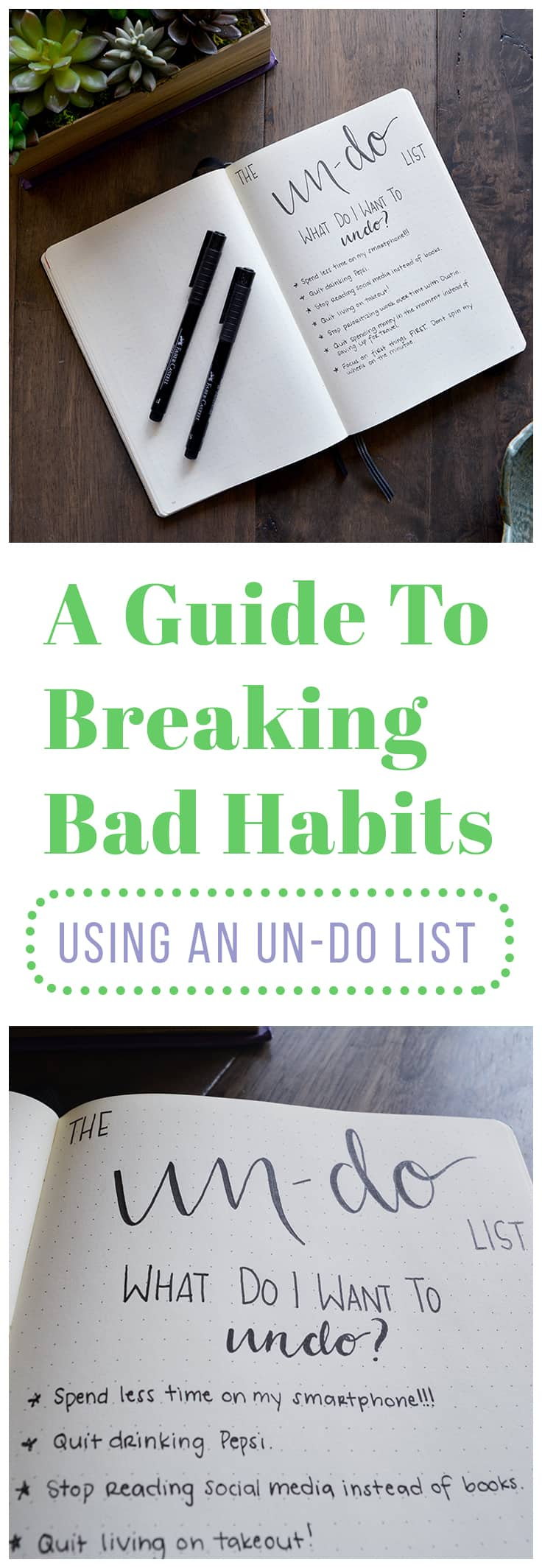 People tend to focus only on creating good habits, but fail to pay attention to their already existing bad habits. This guide will help you tackle you bad habits by showing you how to: 1.	Understand your triggers.  2.	Start small.  3.	Change your environment.  4.	Develop a substitute plan.  5.	Get support. 6.	Plan for failure.