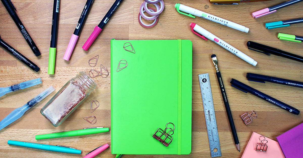 The Best Bullet Journal Supplies 2020 Littlecoffeefox