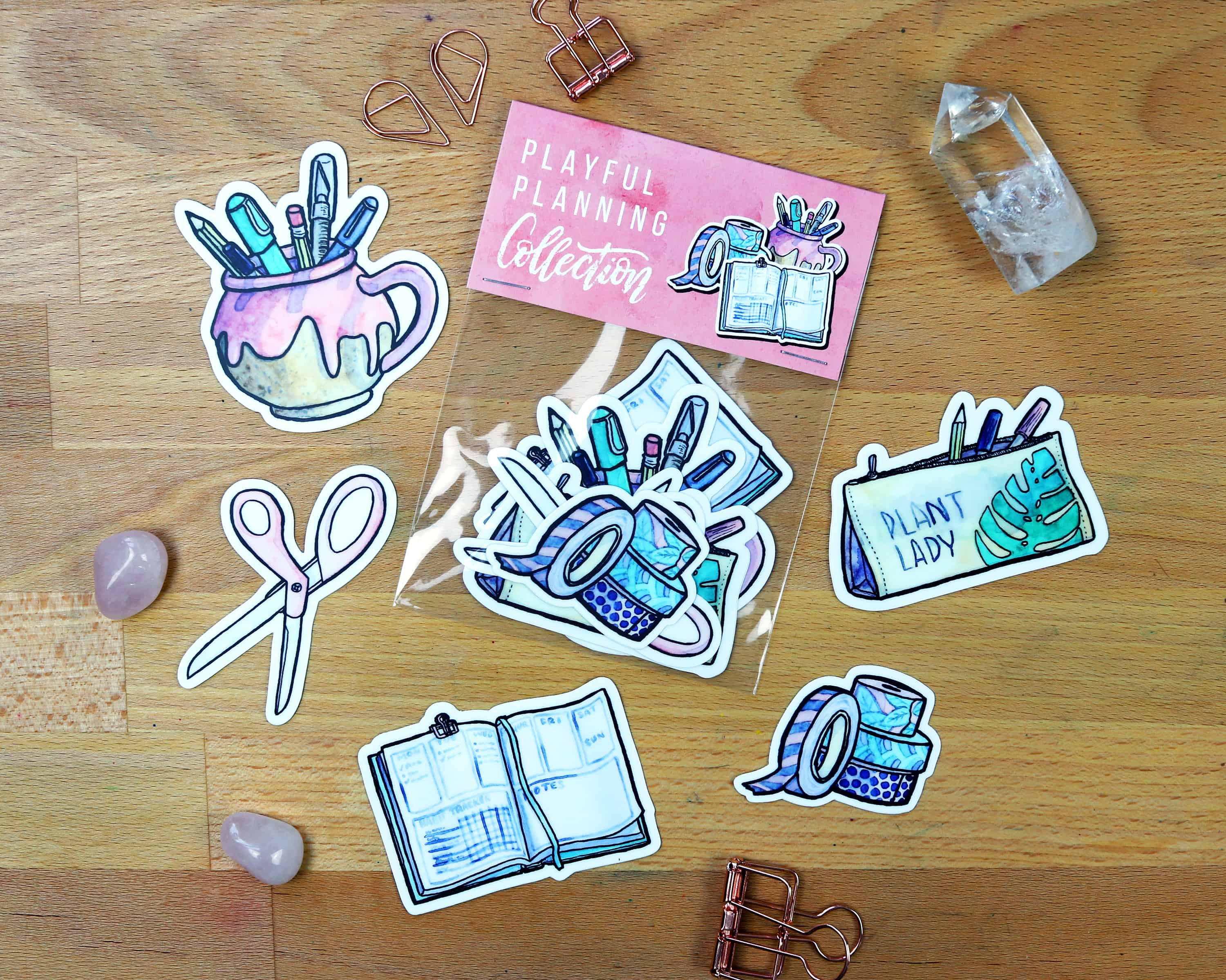 Stickers for your Bullet Journal, Planner, or Laptop