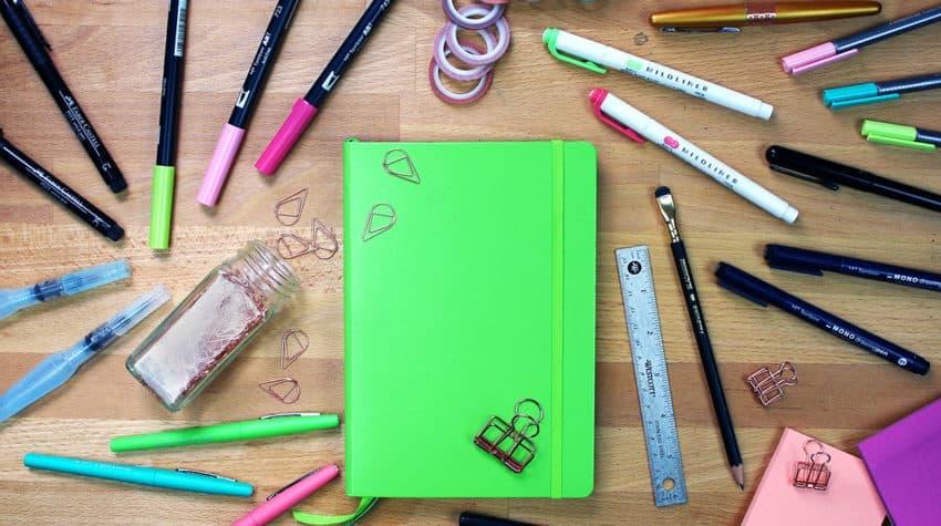 My Best Bullet Journal Supplies