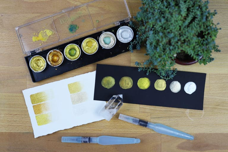 Pleasantly Pearlescent Paint – A Finetec Watercolor Review