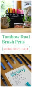 Tombow Dual Brush Pen Review