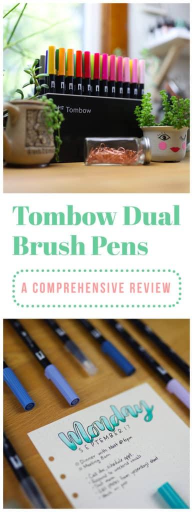 Tombow Dual Brush Pen Review