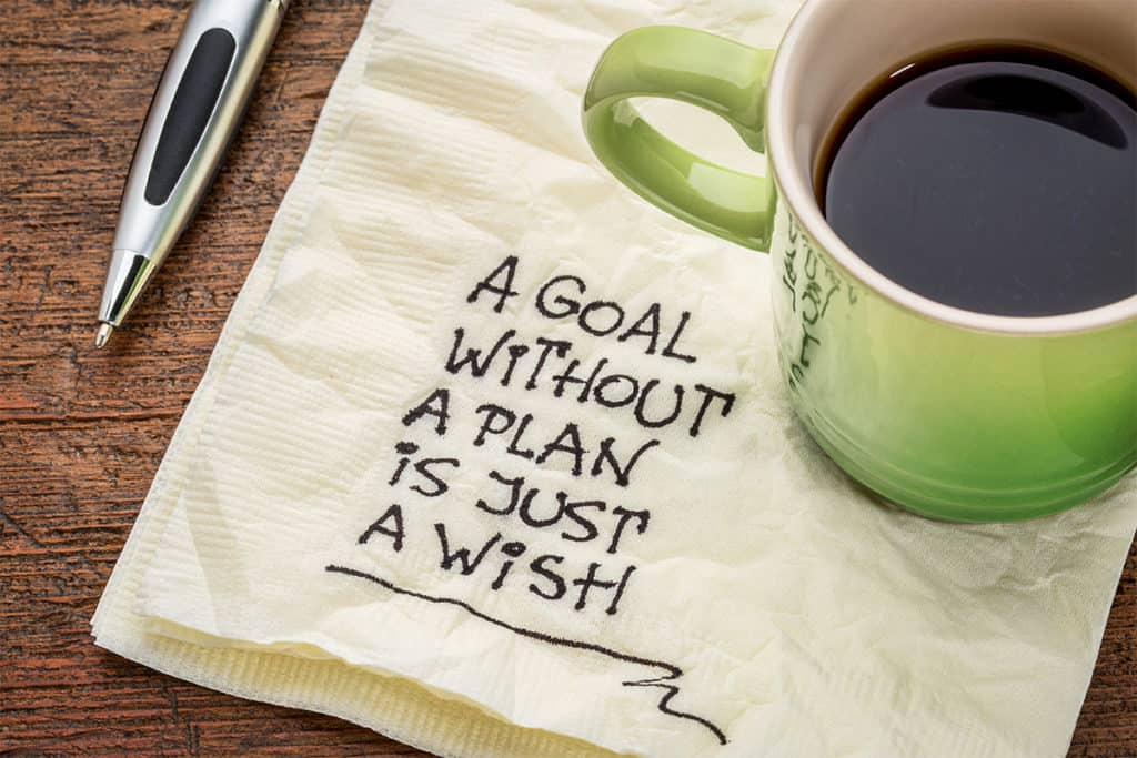 a goal without plan is just wish