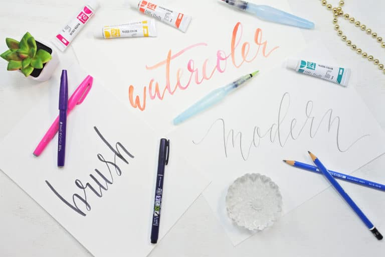 3 Easy Lettering Styles to Try