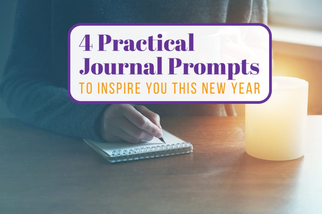 4 Journal Prompts to Inspire you this new year Cover Photo