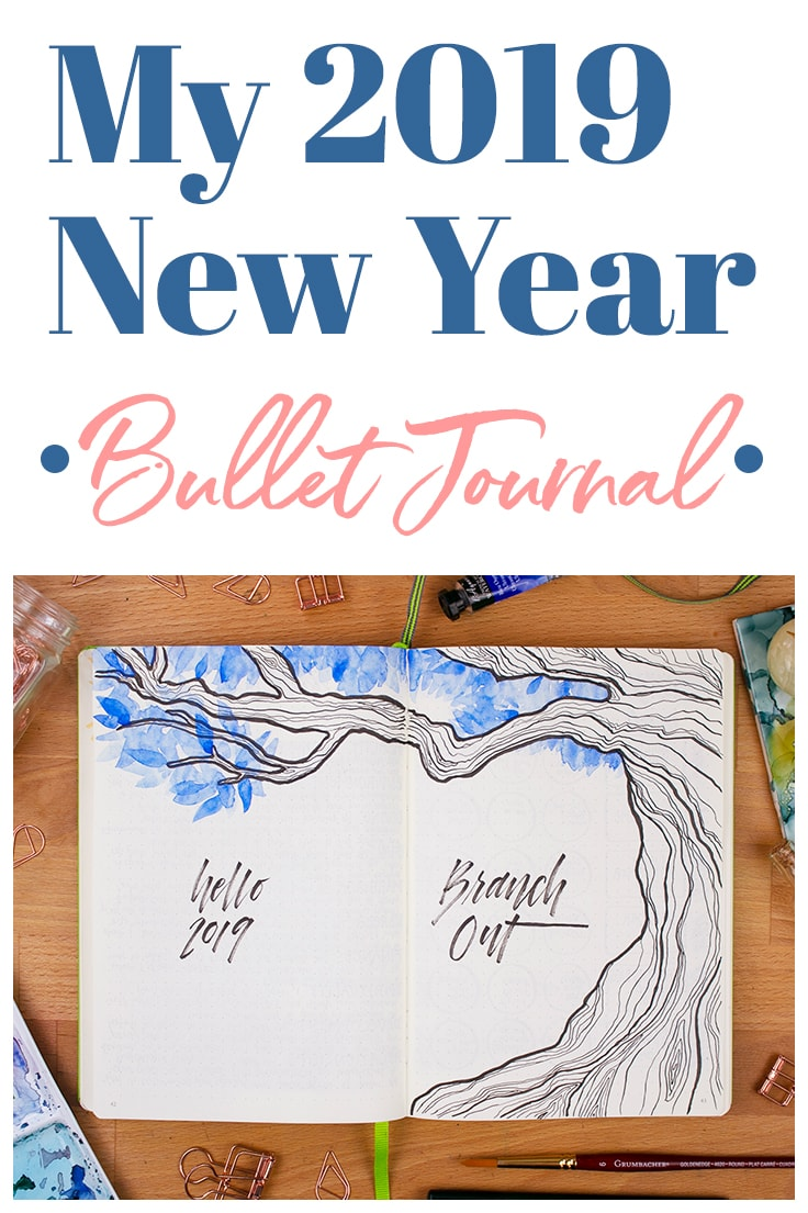 Somehow, without me noticing, 2018 seems to have flown by. A whole year has passed, and my head is spinning. But I am quite excited to ring in the new year and welcome the splendor that 2019 will bring. So, as is tradition for me, I sat down and created a brand new 2019 bullet journal setup to reflect on the past year and look ahead to what the future may bring. Let me show you what I came up with!  #bulletjournal #2019bulletjournal #newyear #bulletjournalsetup