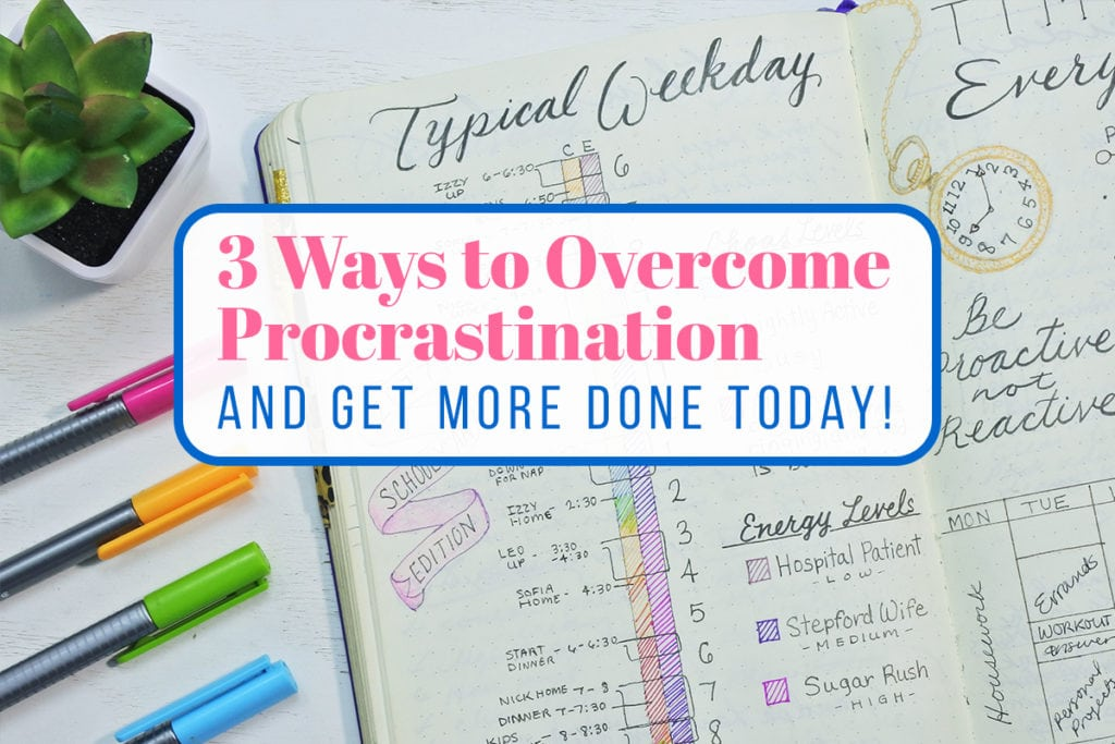 How to overcome procrastination cover photo
