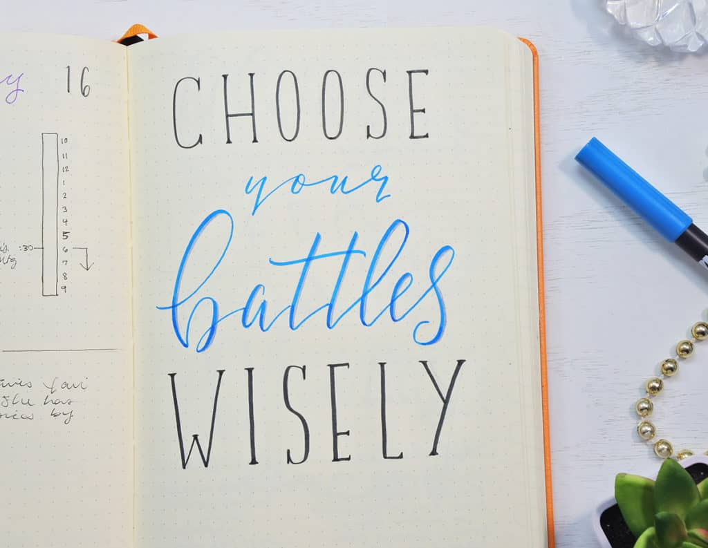 "How to overcome your procrastination: ""Choose your battles wisely"""