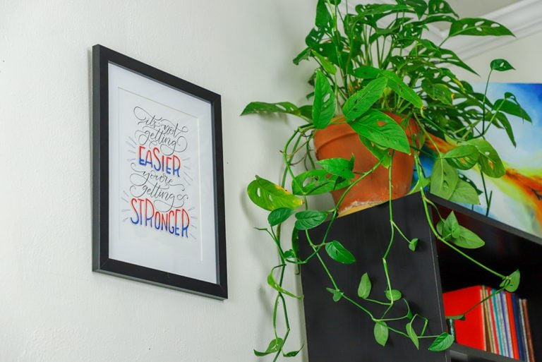 DIY Wall Art: How to Create Personalized Decor with Inspirational Quotes