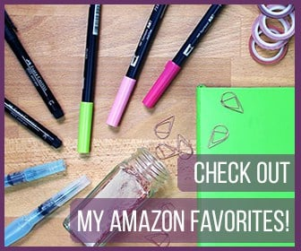 Check out my Amazon Favorites!