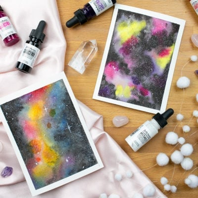 Watercolor Galaxies for Beginners: How to Paint a Stellar Space Scene