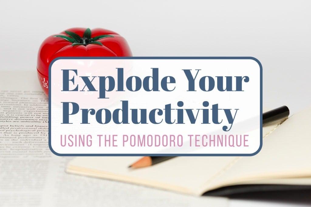 The Pomodoro Technique Cover Photo