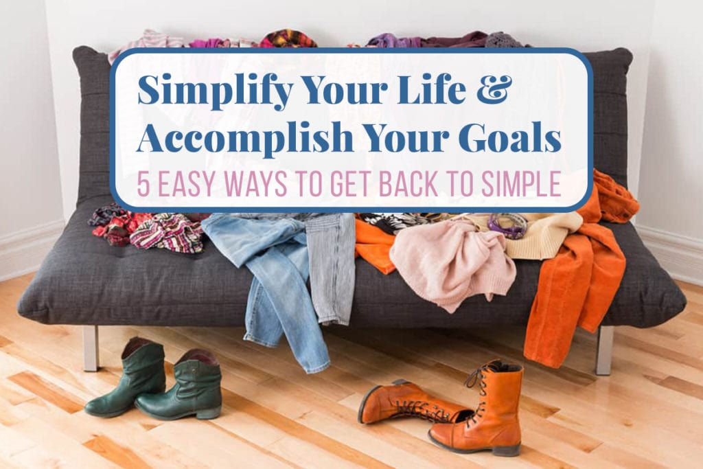 Simplify Your Life Cover Photo
