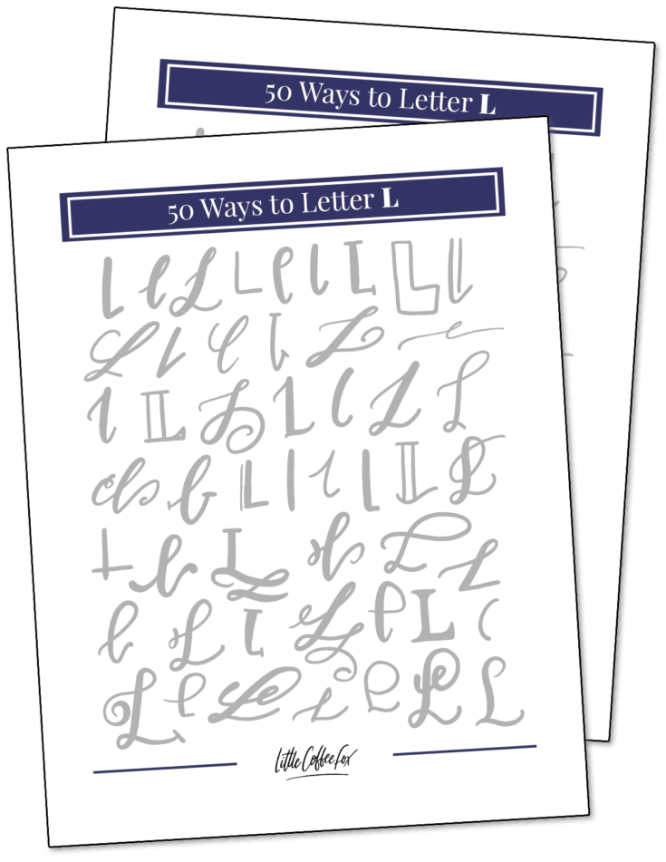 50 Ways to Letter L