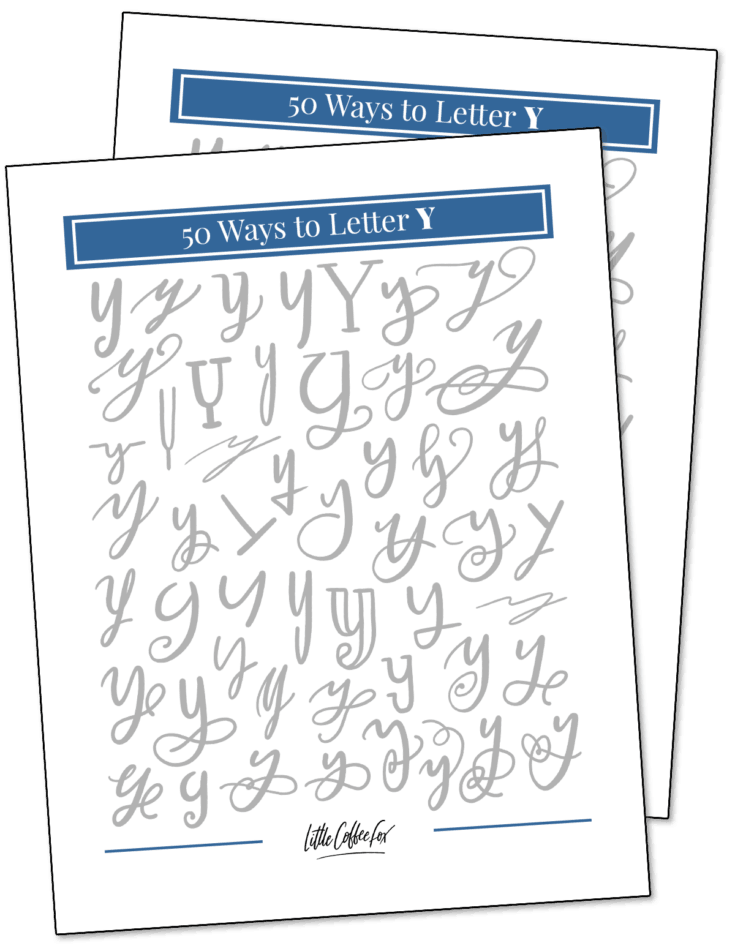 50 Ways to Letter Y