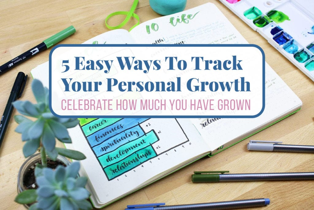Track Your Personal Growth Cover Photo