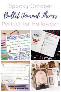Bullet Journal October Short Pin