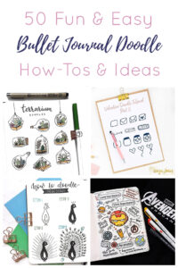 Bullet Journal Doodle Short Pin
