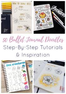 Bullet Journal Doodle Short Pin 3