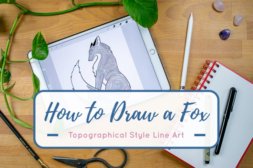 How to Draw a Fox Cover