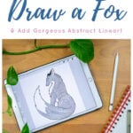 How to Draw a Fox Pin 1