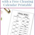 Cleaning Calendar Printable Pin 2