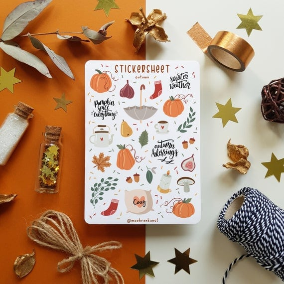 Delightful Fall Stickers