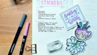 50 Bullet Journal Stickers - Fun & Cute Stickers for All Occasions
