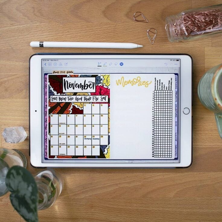 Try a Digital Bullet Journal