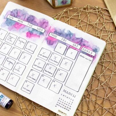 120+ Bullet Journal Monthly Spread Ideas For Each Month (2021)