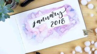 31 January Bullet Journal Themes: Get Ready for 2020