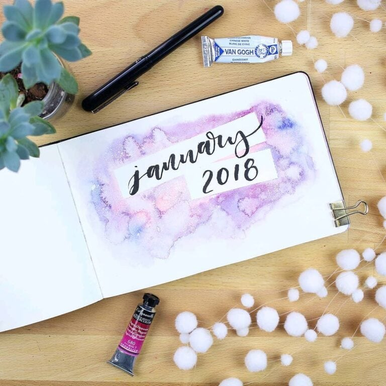 31 January Bullet Journals: Get Ready for The Start of Something New