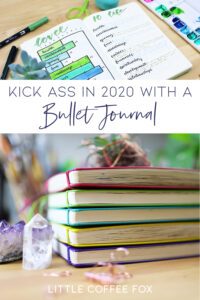 Kick ass in 2020 with a bullet journal Pin