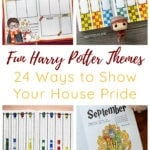 Harry Potter Bullet Journal Ideas Cover Photo & Pin