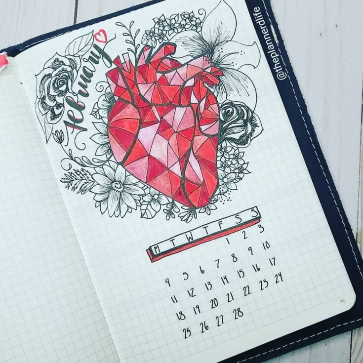 Wear your heart on your bujo
