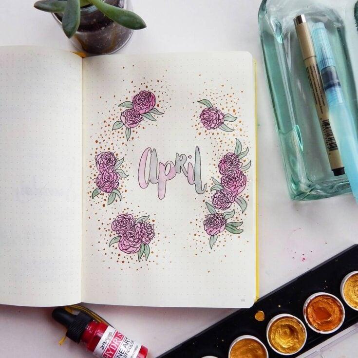 Create a floral theme